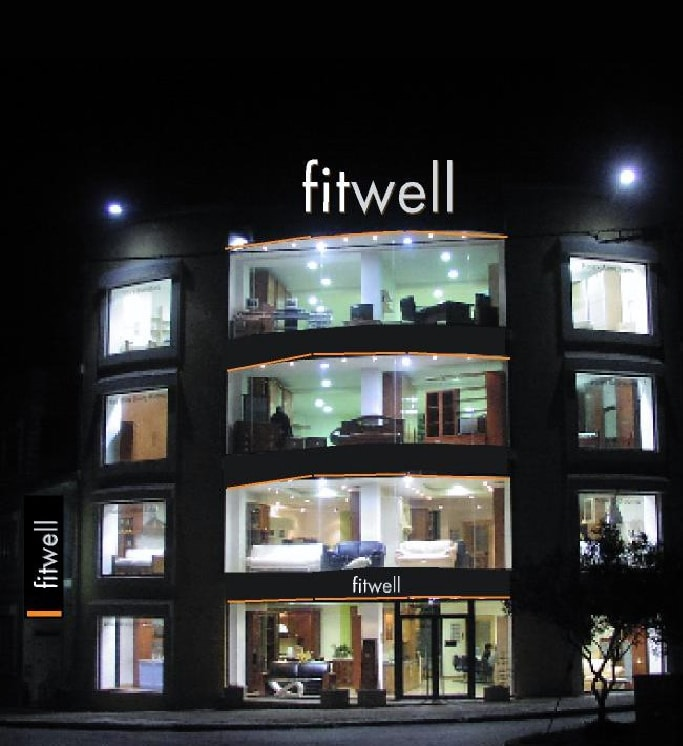 fitwell-showroom-night